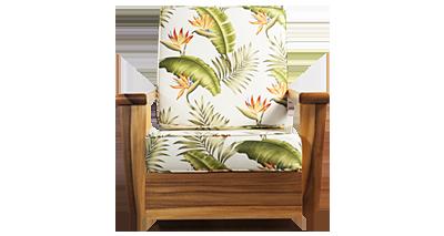 Hawaii Collection Hawaii Lounge. Custom Ohai Furniture